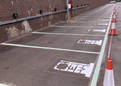 car park lining