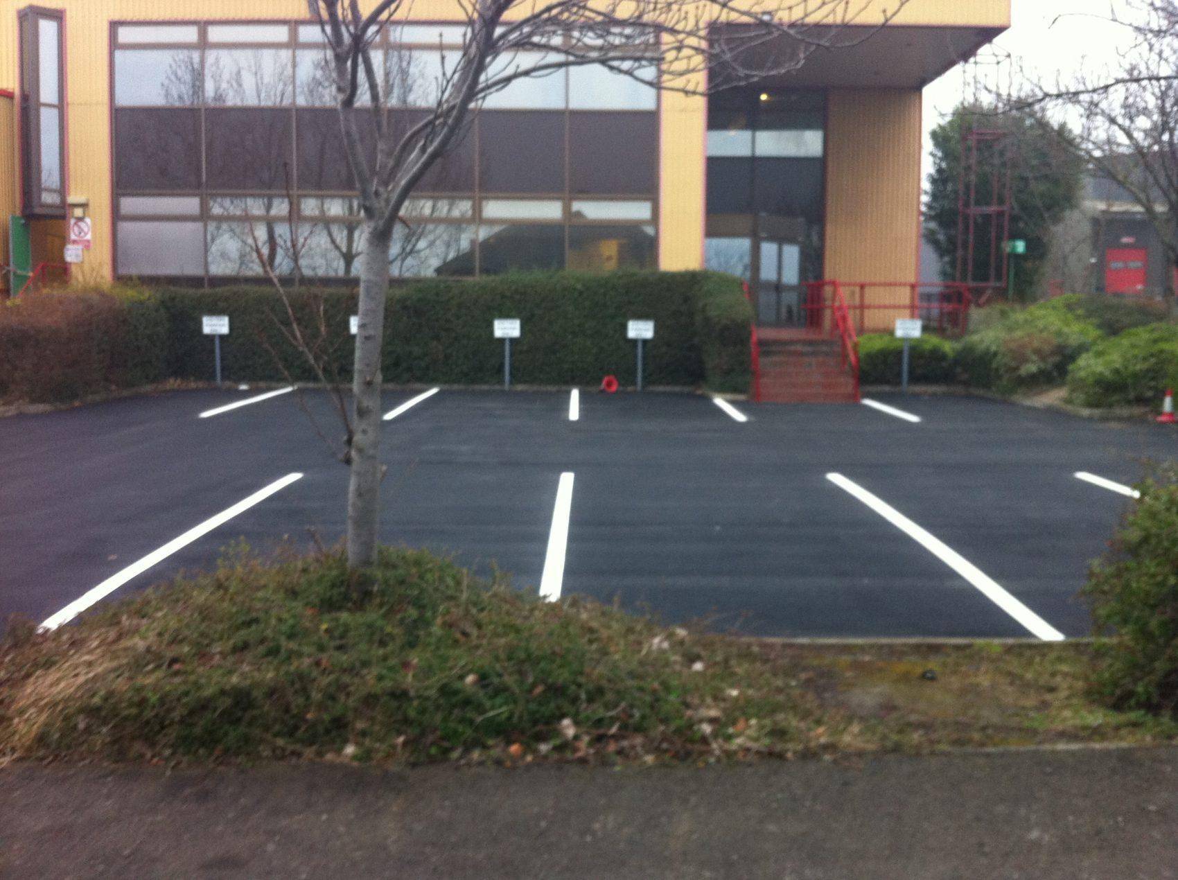 car park lining bradford